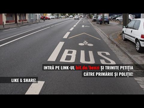 Petitie pentru benzi comune RATB si biciclete