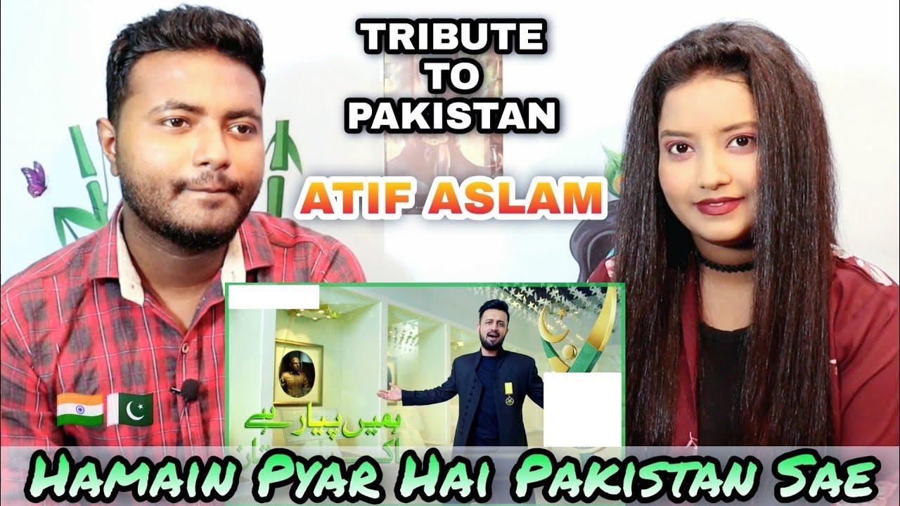 Indian Reaction on Hume Pyar Hai Pakistan Se | Atif Aslam