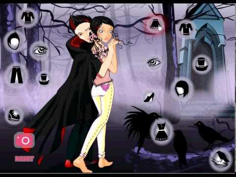 Girl Games - A Vampires Kiss