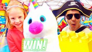 나스티아와 아빠 레고랜드에서 신나게 놀기요!! 레고 놀이공원 과 어린이 박물관