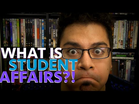 What is Student Affairs?!