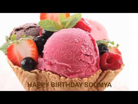 Soumya   Ice Cream & Helados Y Nieves - Happy Birthday