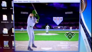Frank Thomas Big Hurt Baseball Sega Genesis gameplay