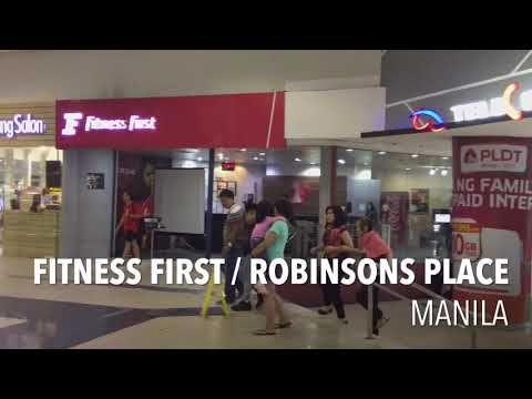 FITNESS FIRST | ROBINSONS PLACE MANILA