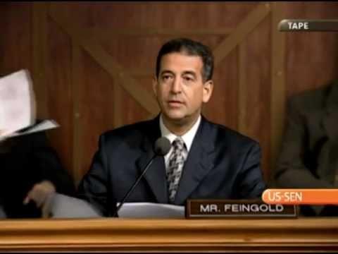 """Senator Russ Feingold """"Morph"""" Commercial"""