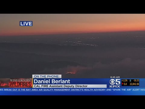Cal Fire Assistant Deputy Director On Wine Country Firefight