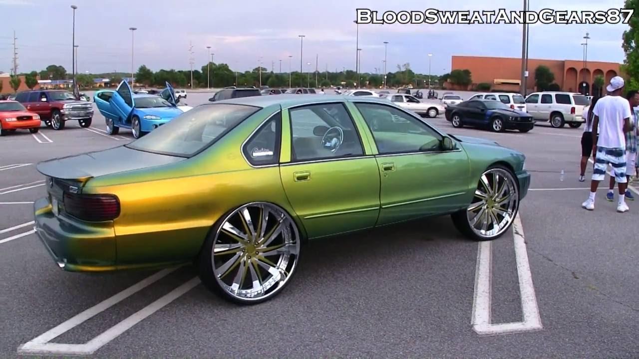 Chameleon 96 Impala Ss On 28 Quot Dub Statica Wheels Youtube