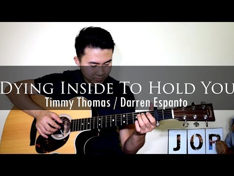 Timmy Thomas | Darren Espanto - Dying Inside To Hold You (fingerstyle cover)