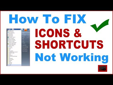 How To Fix Icons And Shortcuts Not Working In Start Menu On Windows Pc[Fix Shortcuts Not Working]
