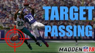 Target passing tutorial madden 18 | how to use the target passing feature in madden 18