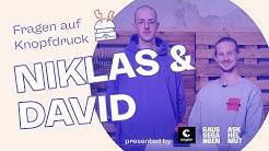 Corona-Essentials, Romantik und Ryan Gosling - Fragen auf Knopfdruck mit Niklas und David