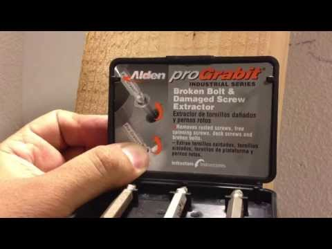 How to Remove A Stripped Screw - Alden Pro Grabit Video Review