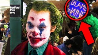 JOKER MOVIE Footage Breakdown! Subway Scene Easter Eggs Explained! thumbnail
