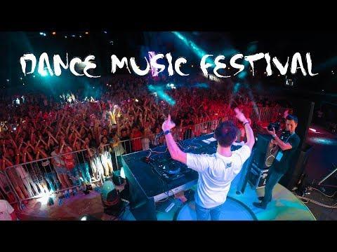 Dance music festival   Tashkent 2017