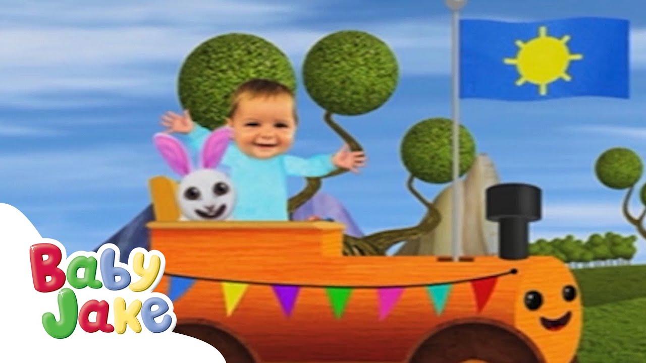 Baby Jake - Rickety Roly Train! 🚂    Full Episodes  