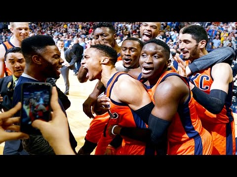 Russell Westbrook hits the incredible buzzer beater against the Nuggets!