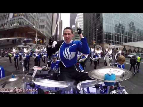 "Drumming in the Macy's Thanksgiving Day Parade! ""Let It Go"" - Frozen"