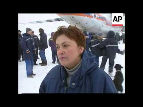 RUSSIA: RESCUE TEAM LEAVES FOR TURKEY EARTHQUAKE ZONE