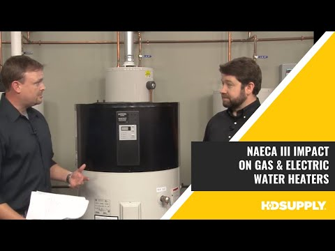 AO Smith - NAECA III: Gas and Electric Water Heaters - HD Supply Facilities Maintenance