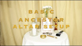 How to Create Ancestor Altar *SIMPLE & EASY*