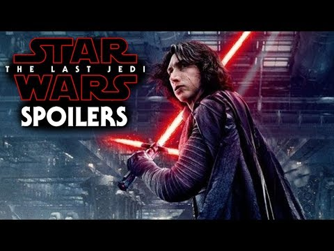 Star Wars The Last Jedi Spoilers Of Kylo Ren & More!