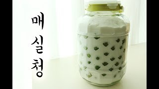 매실청 담기 how to make plum extract :: pochi story