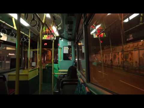 Macau, ride with bus 4 @ night