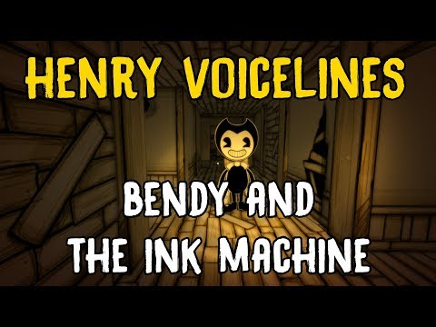 ALL HENRY VOICE LINES - Bendy and the Ink Machine (Henry's Dialogue)