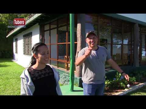 Conociendo la Casita de  Café Miranda en el Boquerón San Salvador El Salvador Parte 2