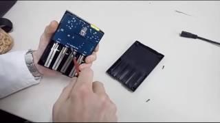 Уничтожаем ✞ бракованный товар с Алиэкспресс - зарядное устройство Inteleger i4 Nitecore(, 2016-12-29T19:28:25.000Z)