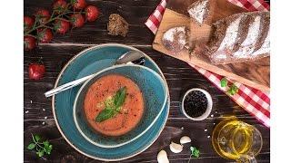 Готовим с Джеком. Холодный суп гаспачо (Gaspacho) | Выпуск  # 1