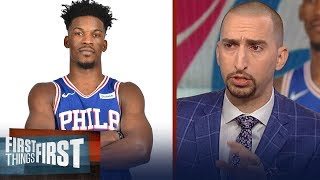 Nick Wright: The Sixers are a championship caliber team with Jimmy Butler | NBA | FIRST THINGS FIRST