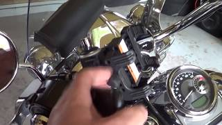 STEREO system on a 2016 Harley Davidson Road King