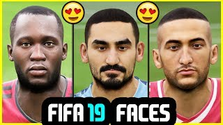 18 NEW FIFA 19 PLAYER FACES (PC ONLY)