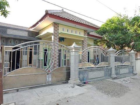 Pagar Besi Stainless Steel Desain Exterior Rumah Idaman Modern Ideal Youtube
