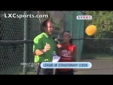 Guy Takes Dodgeball to the Face on Live TV