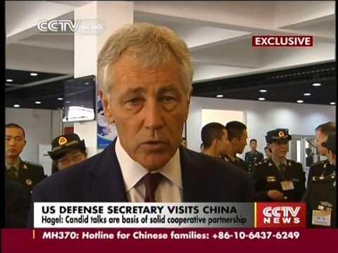 Chuck Hagel eyes broader China US military ties