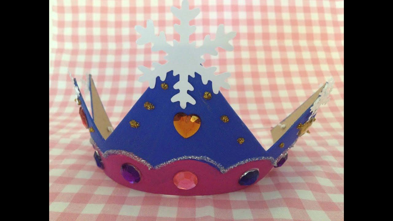 Frozen Kroon Knutselen Op Je Frozen Kinderfeestje Youtube