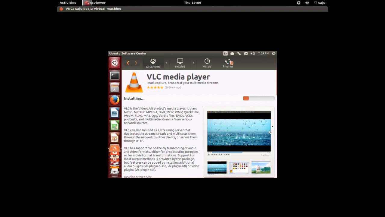 how to install vlc media player in ubuntu youtube rh youtube com VLC Media Player Windows 8.1 VLC Media Player Windows 8.1