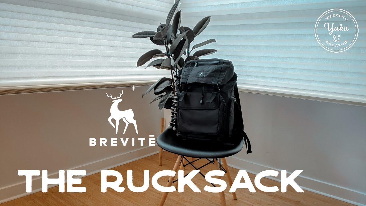 0bef8c00f7a65 Brevite Rucksack review! What I m packing for a weekend in NYC ...