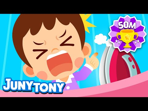 No No It's Hot | Be Careful, It's Hot! | Safety Song For Kids | Kindergarten Song | JunyTony