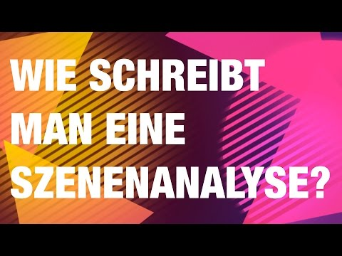 wie schreibt man eine szenenanalyse dramenanalyse youtube. Black Bedroom Furniture Sets. Home Design Ideas