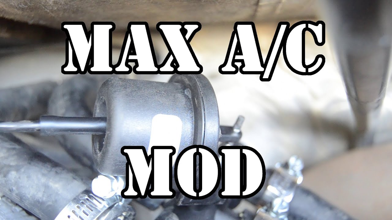 Superduty Max A C Mod Colder Air Conditioning Youtube 1994 7 3 Idi Wiring Diagram