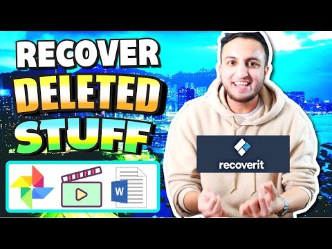 RECOVER Deleted Files For FREE On Mac/Windows (Photos, Videos, Docs, Messages And MORE!) Recoverit