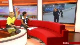 Don't Mess With Steph McGovern - BBC Breakfast 6/8/15