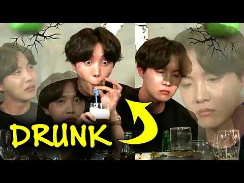 BTS are drunku 😆