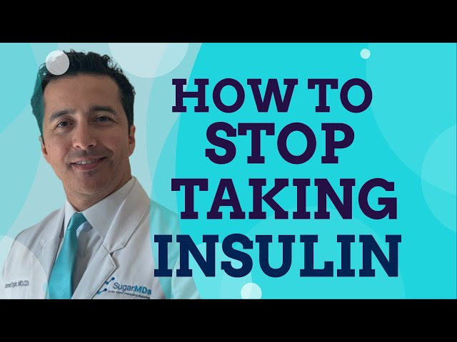 Here is how to STOP taking INSULIN.. Doctor gives the secrets.SUGARMD