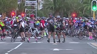 Cape Town Cycle Tour blown off course by extreme weather