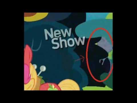 La aparición de slenderman en my little pony / ¿real o falso?