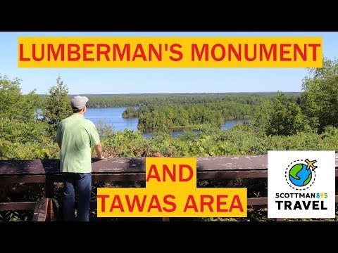 Landscape Photography Around Lumberman's Monument And East Tawas, Michigan